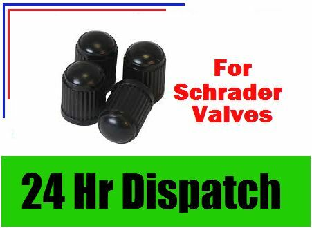 Schrader Type Plastic Valve Caps 4 5005 Weldtite 4 Black