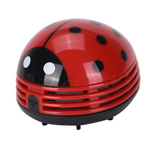 Gentil Details About Mini Ladybug Desktop Coffee Table Vacuum Cleaner Dust  Collectors For Home Office