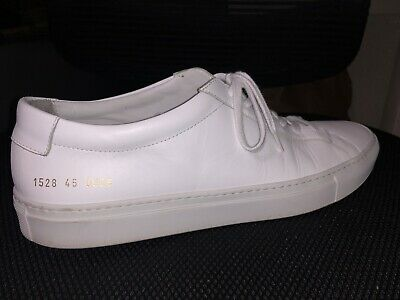 first rate closer at official store COMMON PROJECTS Original Achilles Low, White Sneaker - size 45 EU / 11 US    eBay