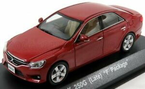 KYOSHO 1/43 TOYOTA | MARK X 250G (LATE) F PACKAGE 2004 | RED MET