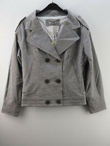 Damen-Damenjacke-Jacke-Blazer-NEU-Chattawak-Grau-Groesse-38-M-40-L-UVP-85