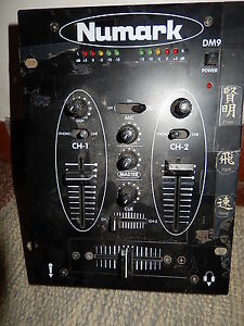 PreAmp-Mixer-Numark-Model-No-DM905