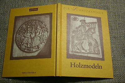 Bäcker Sammlerbuch Holzmodeln Holzkunst Springerle Schnitzer Back-Modeln