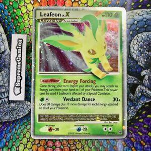 ? Leafeon Lv. X 99/100 Majestic Dawn Holo Rare Pokemon Card HP