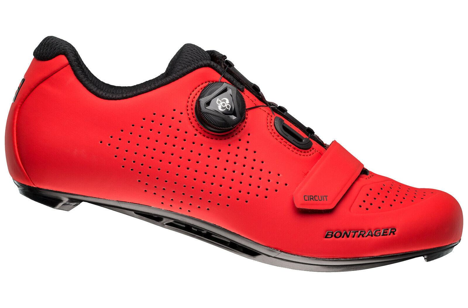 Zapatos Ciclismo Bontrager Circuit Road zapatos Color Rojo