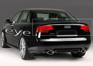 Audi A4 B7 05 07 3 Piece Rear Roof Spoiler Rs4 S Line Look Ebay