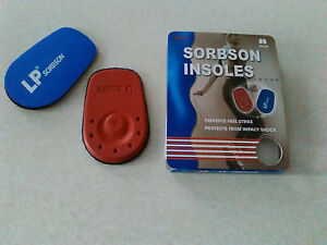 LP-312-SORBSON-Heel-Pads-Insoles-Shoe-Size-UK-1-to-3-shock-absorbtion
