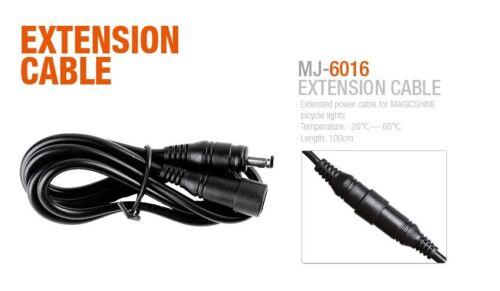 MagicShine Helmet mount and Ext Cable kit For MJ-880 LED Bike Light Oval Plug