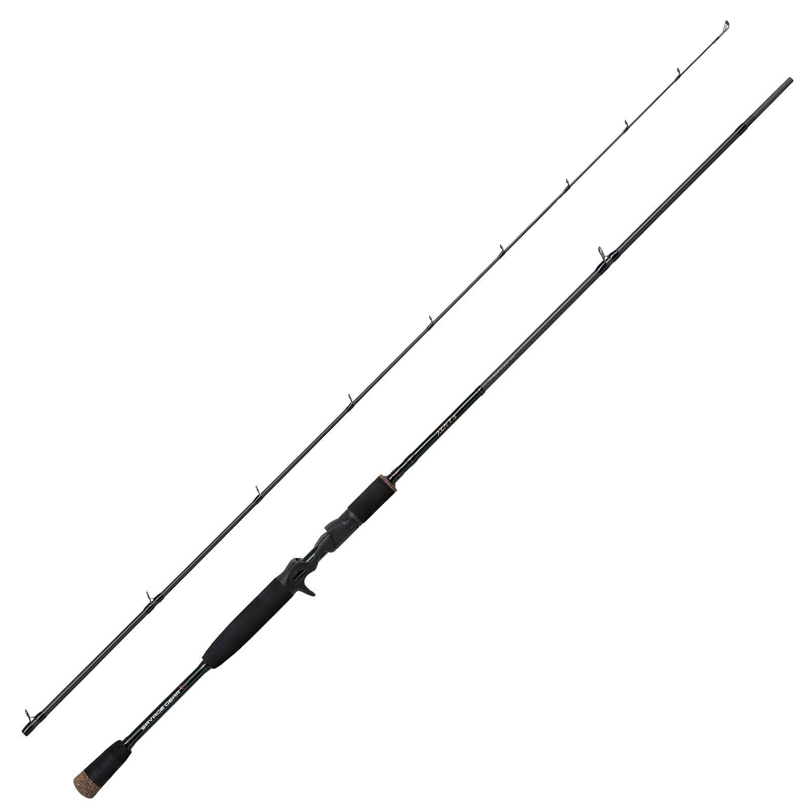 Savage Gear baitcastrute – XLNT trigger 3 8ft3in 2,51m 150g 2 pezzi