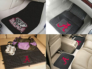Alabama Crimson Tide Ncaa Vinyl Carpet Rubber Car Truck