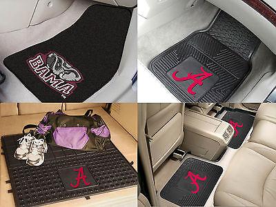 Alabama Crimson Tide Ncaa Vinyl Carpet Rubber Car Truck