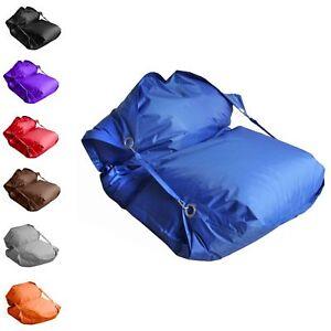 Sacco Seduta Beanbag 140 X 200 CM Con Occhielli di Metallo E Haltegurte Esterni
