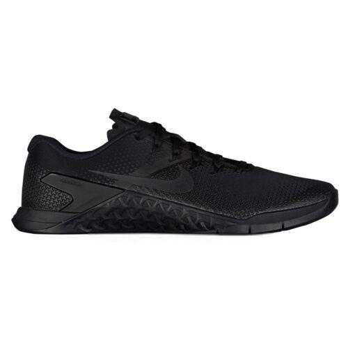 Nike 4 con 001 de gimnasia de negro Ah7453 Tama o 11 Hombres cruz 888411743989 triple entrenamiento Zapatillas Metcon qqCU4