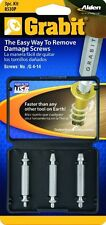 BRAND NEW 8530P Alden Grabit 3 Piece Bolt & Screw Extractor Set 727708085305