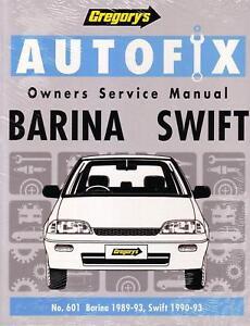 new gregorys repair manual holden barina suzuki swift ebay rh ebay com holden barina workshop manual free 1995 holden barina workshop manual