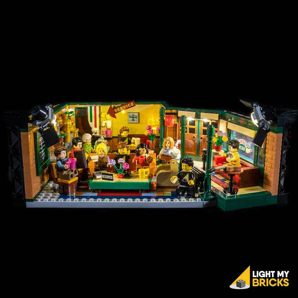 Light My Ladrillos-LED Luz Kit Para Lego Friends Central Perk 21319