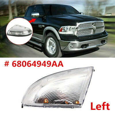 Front Right Passenger Side Mirror Turn Signal Lamp For 2009-2014 Dodge Ram 1500 2010-2014 Dodge Ram 2500 Replace 68064949AA