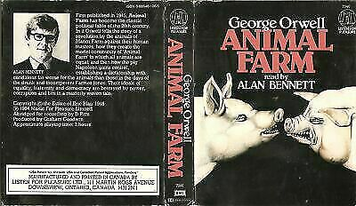 Animal Farm by George Orwell (Cassette, Abridged) for sale online | eBay
