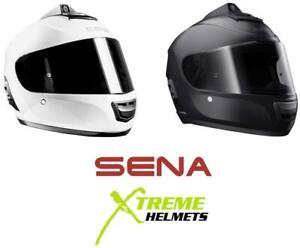 Sena-Momentum-INC-Pro-Helmet-Full-Face-Noise-Control-Quad-HD-Camera-DOT-XS-2XL