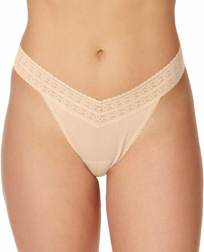 Details about  /hanky panky 4-14 One Size Dream Tencel Modal Original Rise Thong Value 3 Pack