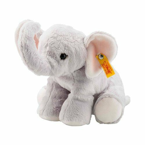 STEIFF Kuscheltier Benny Elefant 20cm Schmusetier Plüschtier NEU grau