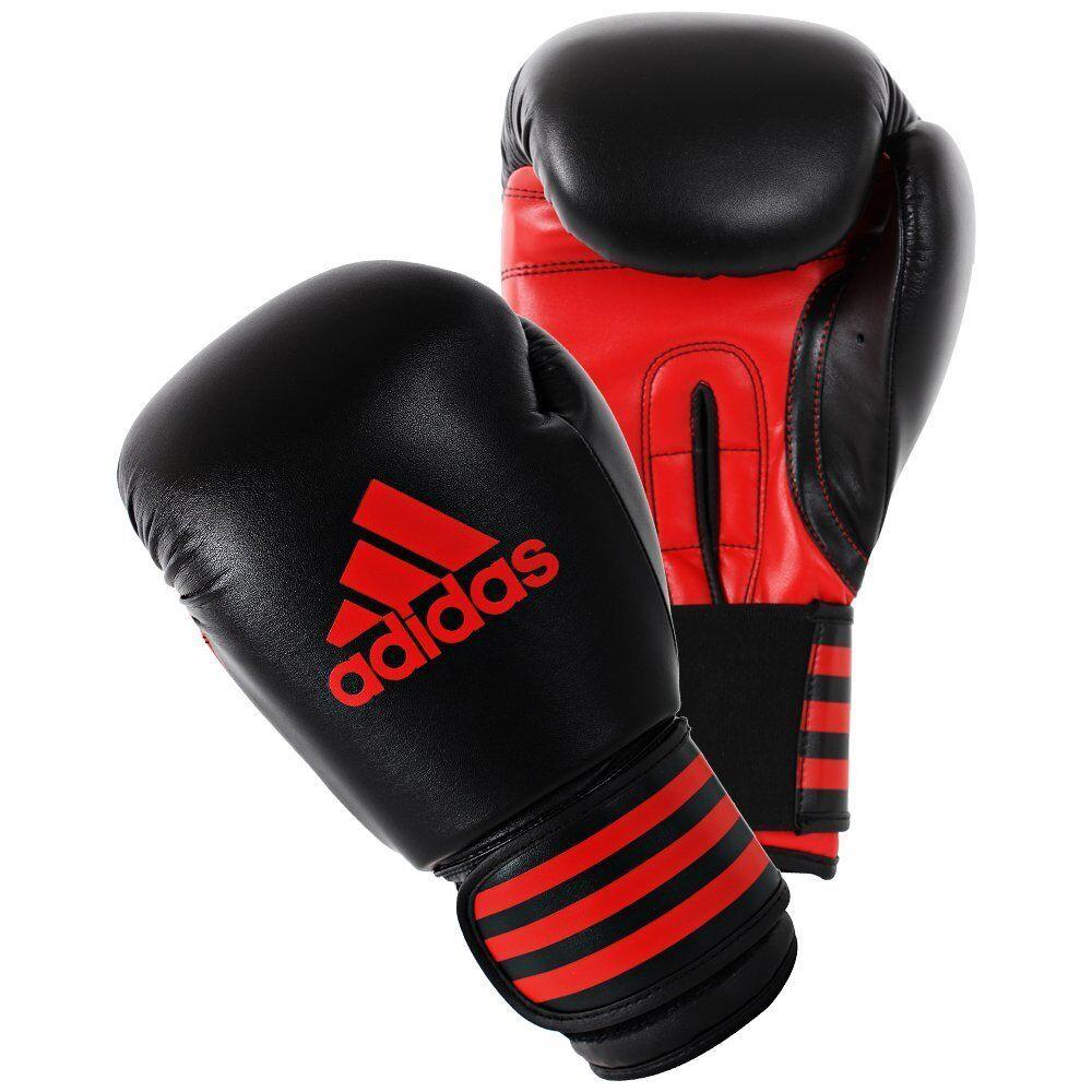 Adidas Boxhandschuhe 100 black red Box-Handschuhe ADIPBG 6 16ac397a20dc
