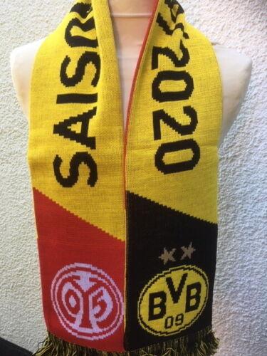 FSV Mainz 05 Schal 2019//2020 Borussia Dortmund Begegnungsschal BVB