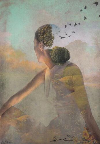 Postcard Art Sommertraum Catrin Welz-Stein Postkarte