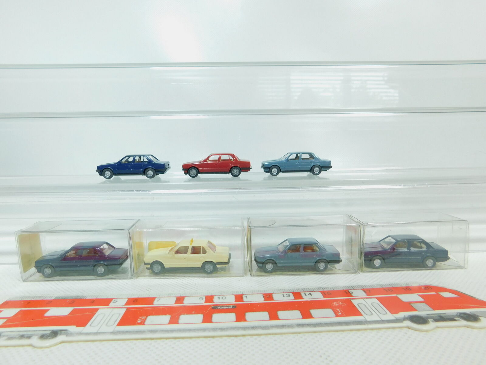BN101-0,5  7x Wiking H0   1 87 Modèle de Voiture BMW 320i   320 I   149