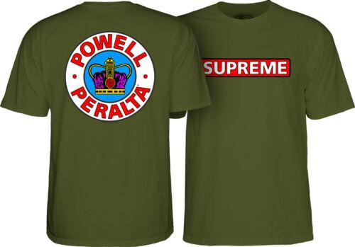 Powell Peralta Mens Supreme Short Sleeve T-Shirt CTMPPSUP