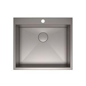 Image Is Loading Kraus Pax Zero Radius 25 Inch Single Bowl