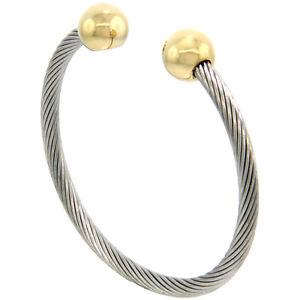 Stainless Steel Cable Bracelets Medical Id Bracelets