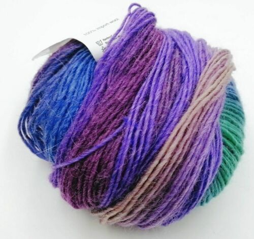 1 Ball 50 g Soft Knitting Hand-woven DIY Wool Blend Yarn Rainbow Color Elegant