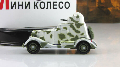 BA-20 Armored Car Soviet Union USSR WWII 1936 Year 1//72 Scale Diecast Model