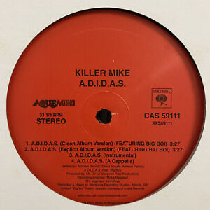 KILLER-MIKE-A-D-I-D-A-S-SCARED-STRAIGHT-12-034-2003-RARE-OUTKAST