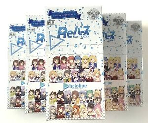 BUSHIROAD ReBirth for you Booster Pack Hololive Production BOX w//tracking