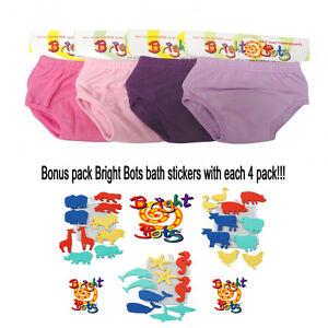 Bright-bots-Washable-potty-training-toilet-training-pants-4-pack-GIRL