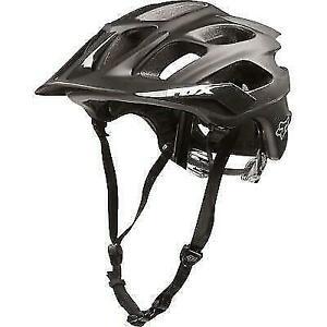 20021 Matte Black - XS//S Fox Flux Bicycle Helmet