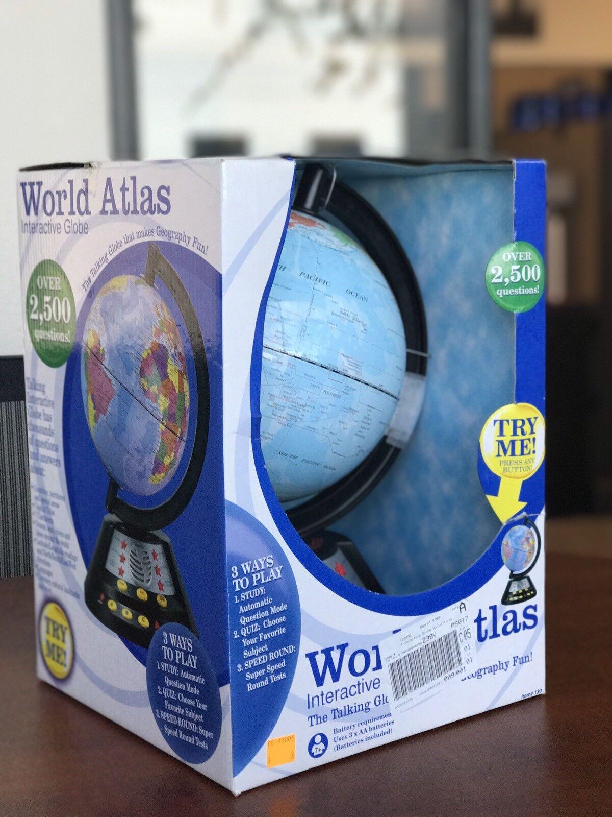 Atlas Mundial Globo interactivo hablando Cel Ltd Edición