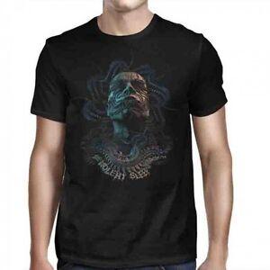 MESHUGGAH-Violent-Sleep-Head-T-SHIRT-S-2XL-Brand-New-Official-JSR-Merchandise