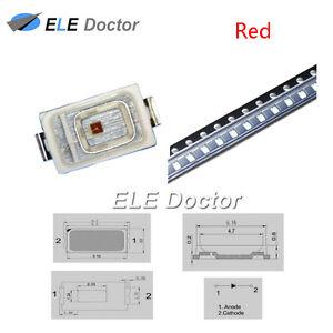 100PCS-SMD-5730-SMT-Luz-Roja-diodos-LED-lampara-ultra-brillante-de-alta-calidad