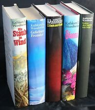 5 x Kathleen E. Woodiwiss  - Konvolut, wild romantische Romane im Paket - Shanna