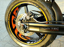 Wheel Sticker Supermoto Rims for KTM Super Duke 950 990 SM SMR RC8
