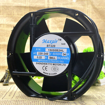 For Maxair BT220 12038B2HL AC 220V Axial flow fan AC Cooling Fan