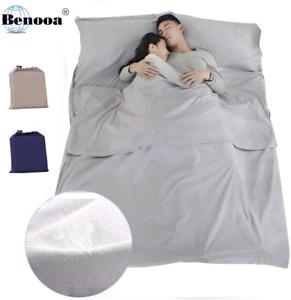Benooa Sleeping Bag Liner,Cotton Travel Sheet Lightweight Camping Sleep Bag for
