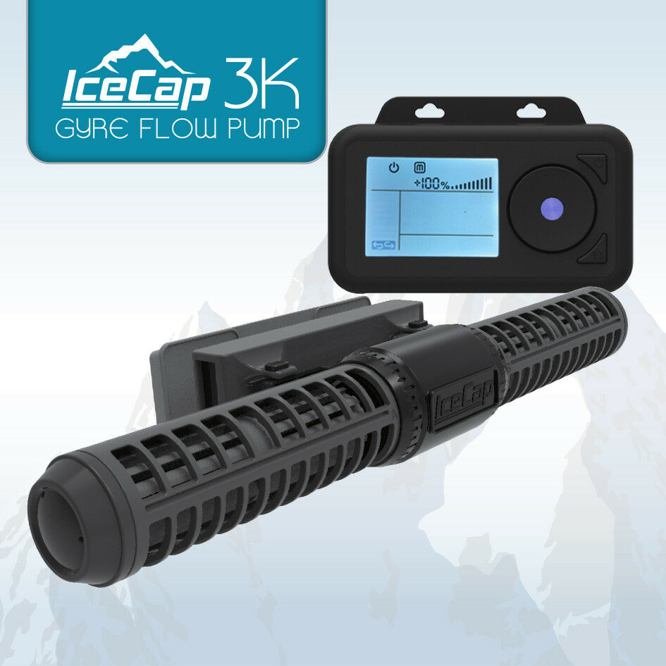 Gyre 3K Generation Flow Pump - IceCap - Controllable up to 3000 GPH