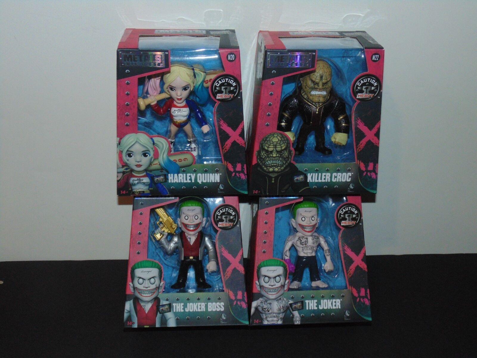 Jada Metals, Suicide Squad, Killer Croc, Joker, Joker, Joker, The Joker Boss, Harley Quinn f37237