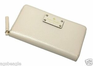 Kate Spade Wallet WLRU1153 NEDA Wellesley Porcelain  by Agsbeagle #COD Paypal