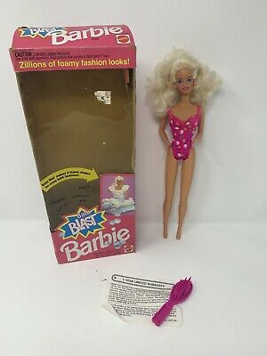 Bath Blast Barbie Doll New