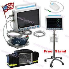 Patient Monitor Icu Ccu Vital Signs Machine Printer Etco2 Multi Parameter Fda Ce